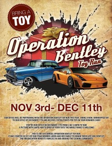Bentley Toy Run 2014