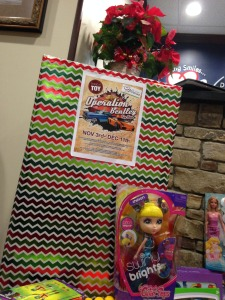 Operation Bentley Toy Drive 2014-