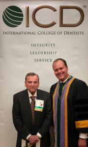 Dr. Robert J. Herman with our practice founder and ICD Fellow, Dr. James S. Torchia